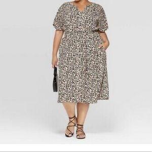 Ava & Viv Leopard Dress